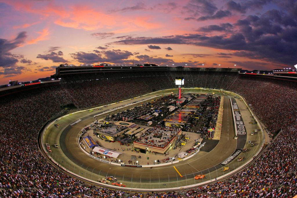 at Bristol Motor Speedway in Bristol, Tennessee on August 27, 2011.