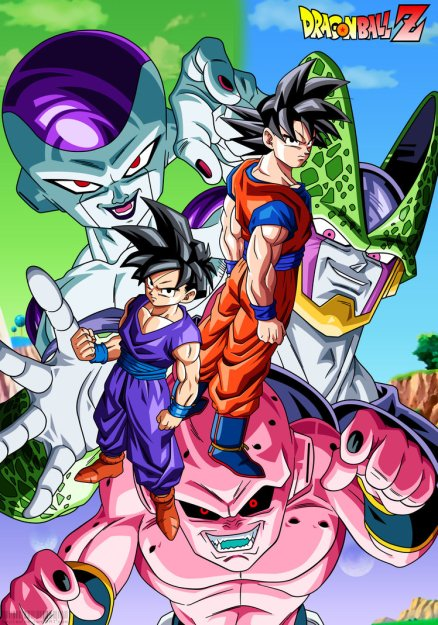 dbz_goku_and_gohan_vs_villains_by_bejitsu-d5qreqs